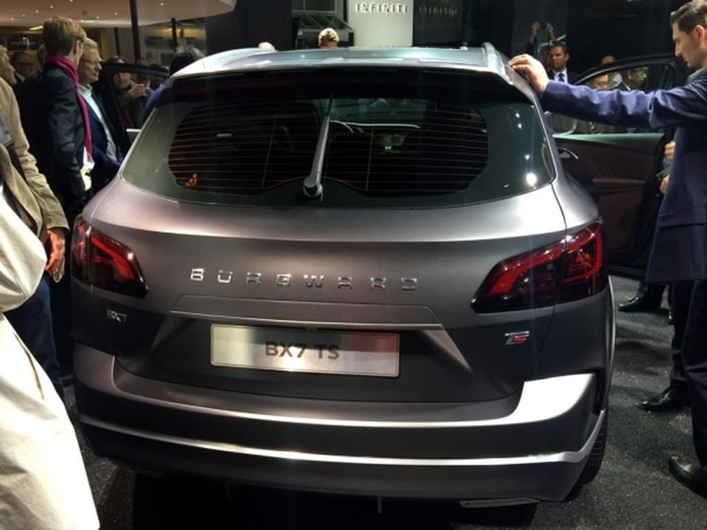 BX7 TS/BX6等4款 曝宝沃2017年新车规划