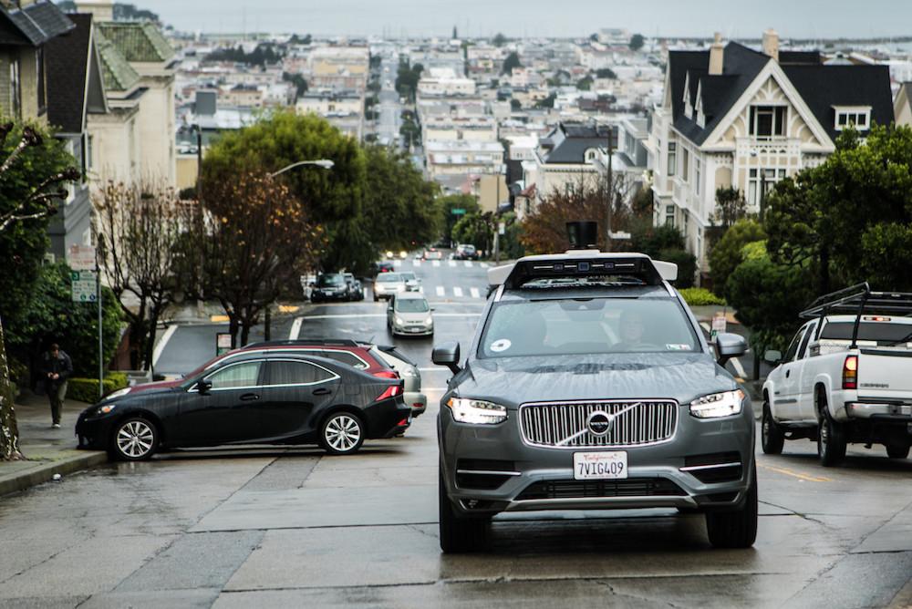 受事故影响Uber放弃加州自动驾驶汽车测试