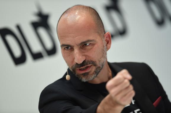 Uber CEO:今年我们将成世界最大的外卖公司