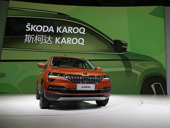 尺寸与进口途观相仿 斯柯达柯珞克SUV发布