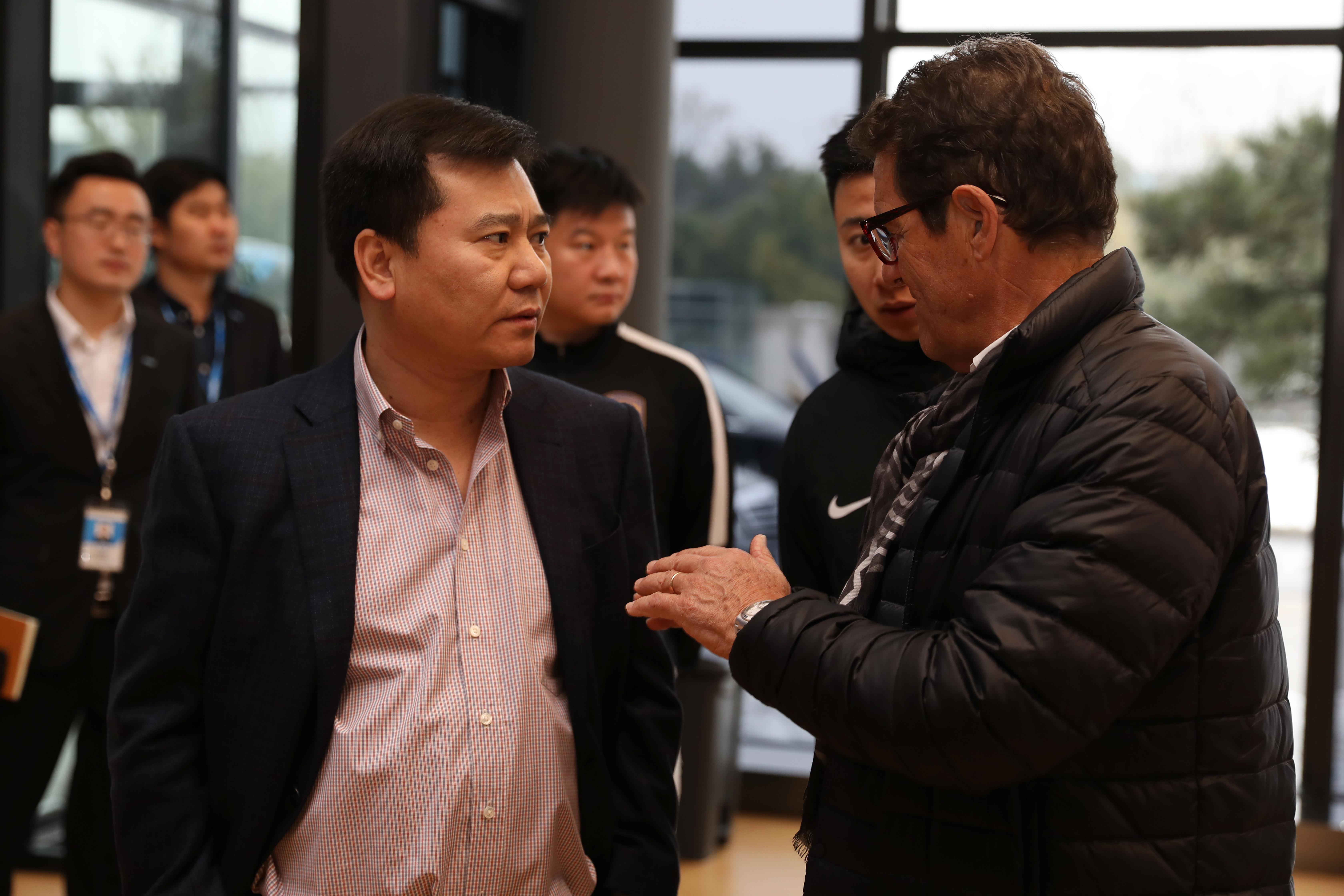 苏宁冬训开启 张近东:新赛季用实力和成绩正名