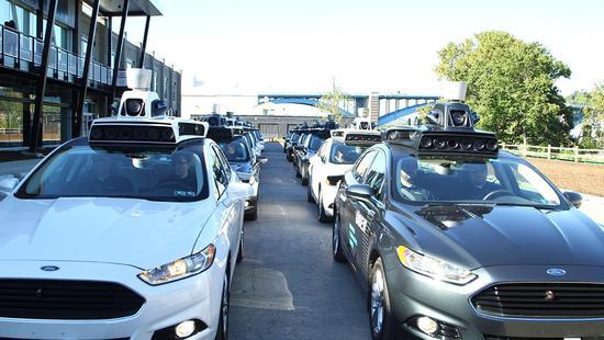 Uber 无人驾驶 Grab