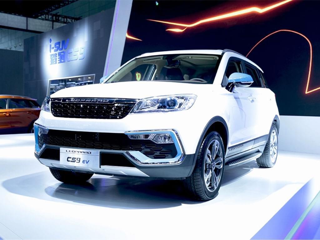 补贴后售11.68万起 猎豹CS9 EV300上市