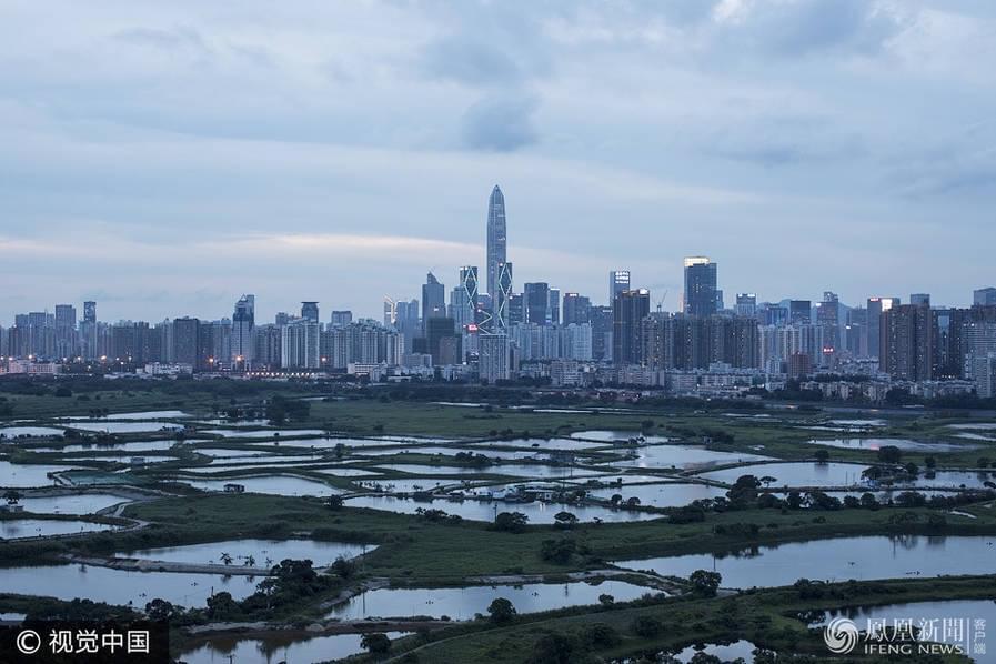 高楼平地起:从香港看深圳