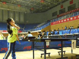 运城:2017年青少年乒乓球比赛圆满结束