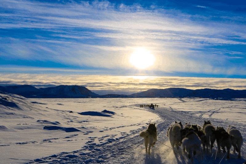 童年幻想的冰雪世界:格陵兰岛
