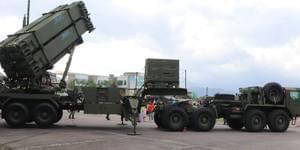 台湾爱国者3导弹转弯撞民间车辆