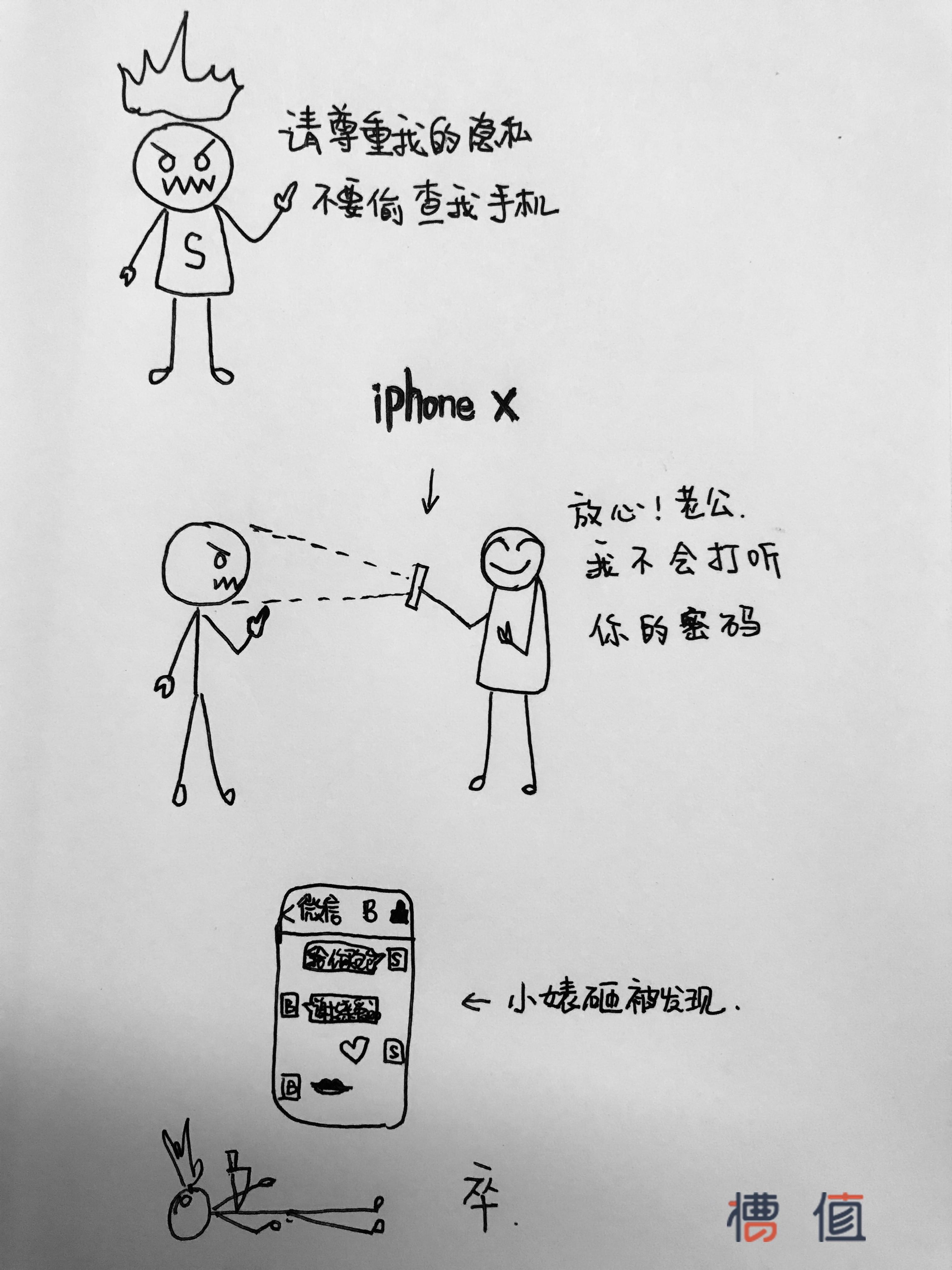女人疯狂给老公买iPhone X的原因大曝光