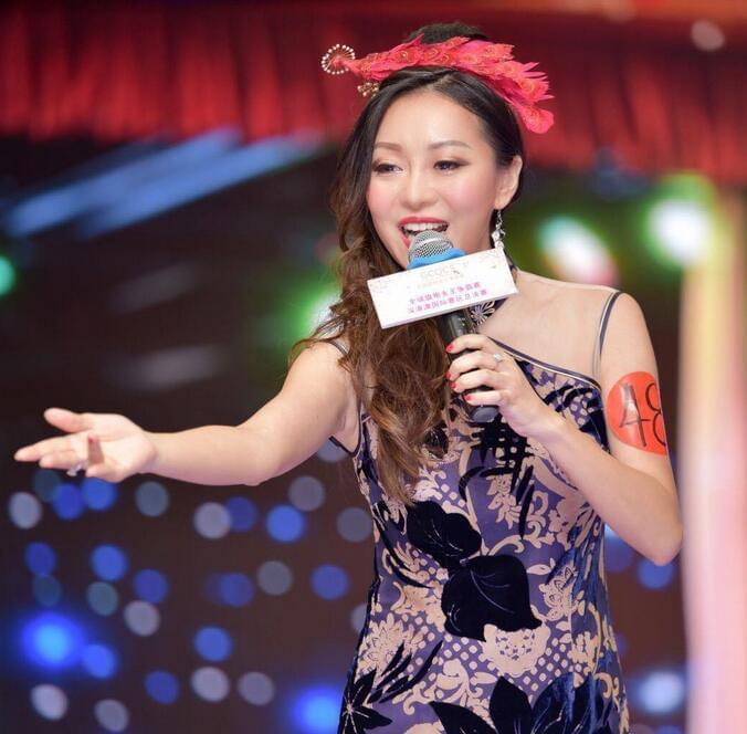全球旗袍女王争霸赛深港澳选美香港杨家慧获冠军