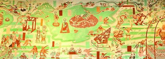 敦煌画卷展现了丝路文明的多样形态