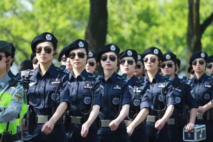 杭州西湖女子巡逻队里藏了位高颜值90后全能妹子