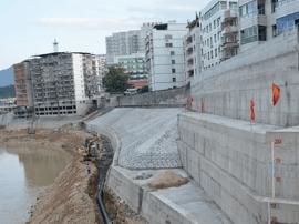 灾后水利设施恢复顺利闽清诸多水利工程基本完工