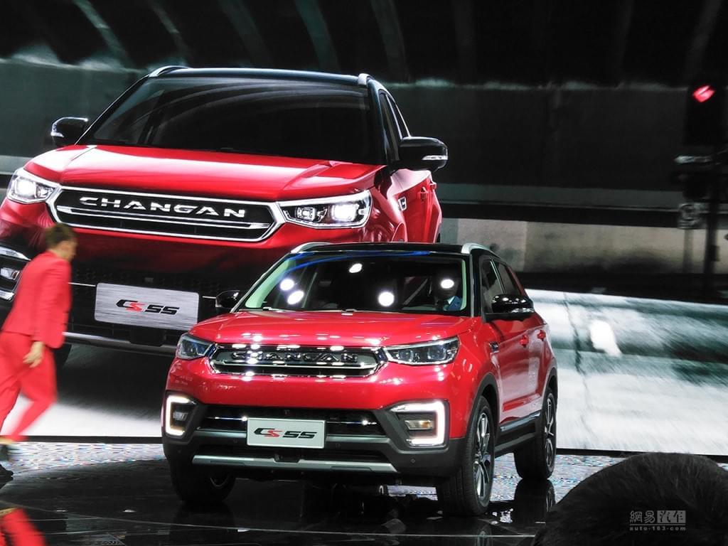 2017上海车展:长安紧凑级SUV CS55首发
