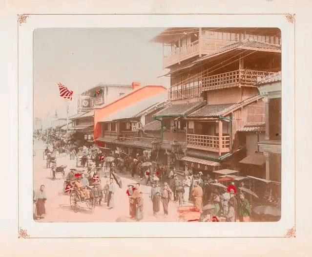 18张罕见彩照 带你穿越到100年前的日本