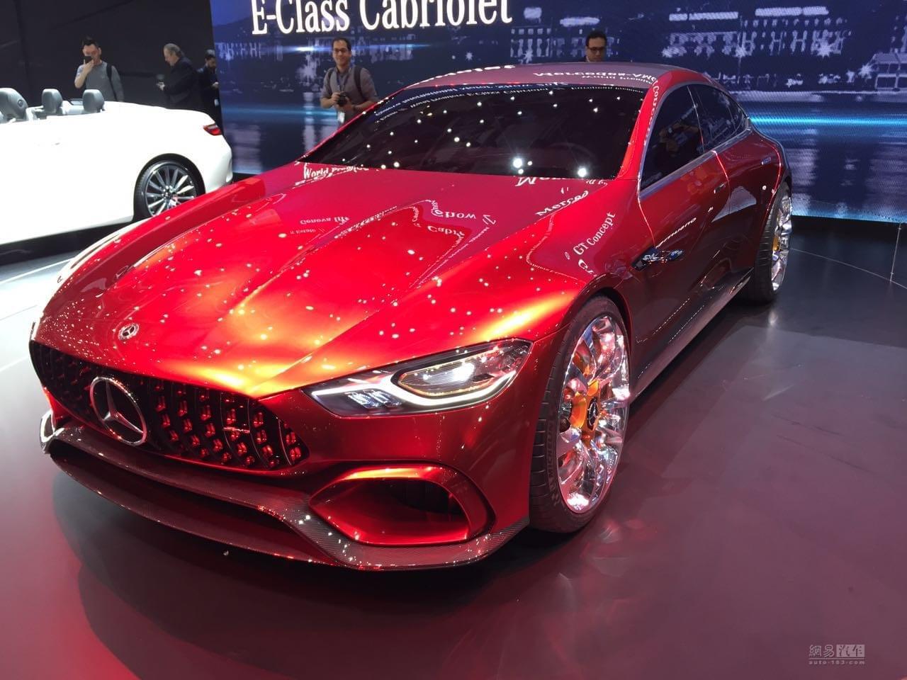 2017日内瓦车展:梅赛德斯-AMG GT概念车
