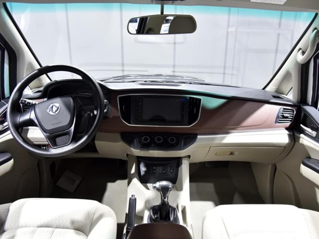2017上海车展:东风风行菱智M5 EV发布