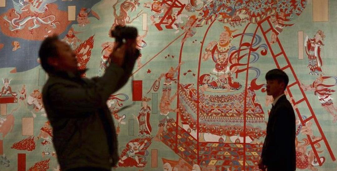 百余幅张大千艺术作品亮相国家博物馆