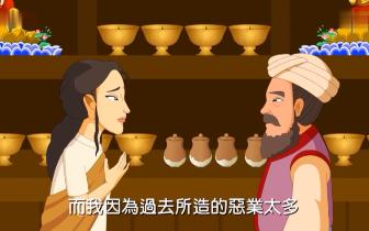佛教智慧故事:【贫女点灯心诚不灭】