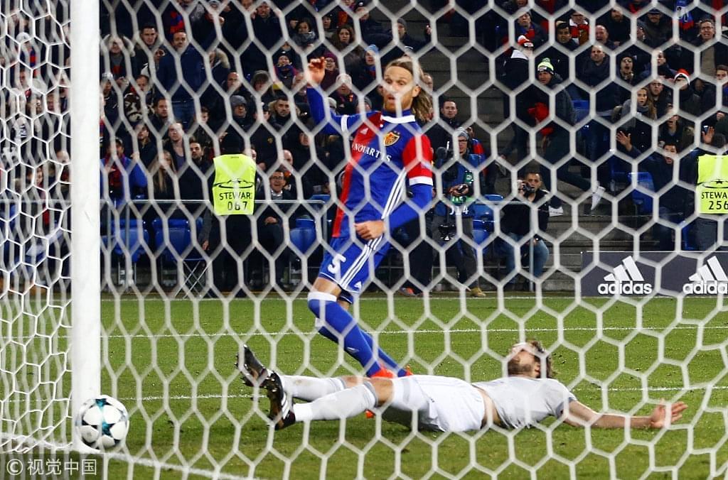89分钟丢球!曼联0-1巴塞尔 无缘提前出线