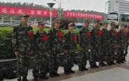泰州:425名新兵启程奔赴军营