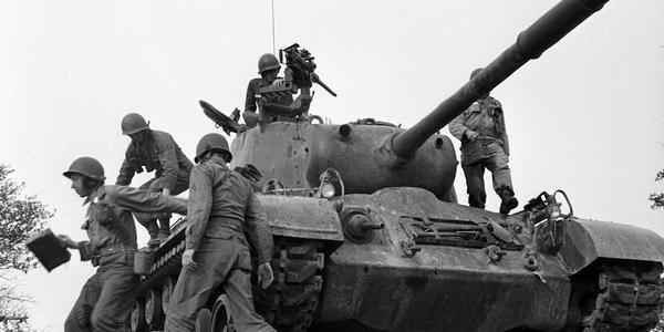 老照片:1952年的美国陆军第三军团