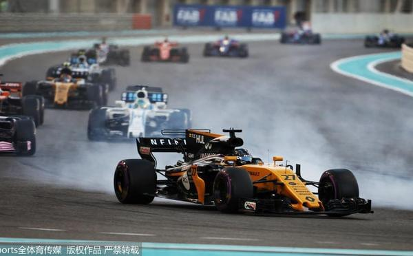 F1阿布扎比站正赛:博塔斯风驰电掣轻松夺冠