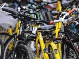 福州市区暂停投放共享单车新车 专人处理乱停放