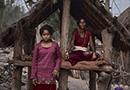 尼泊尔女性每月一次的