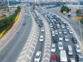 元旦假期长益高速公路5个收费站实施交通管制