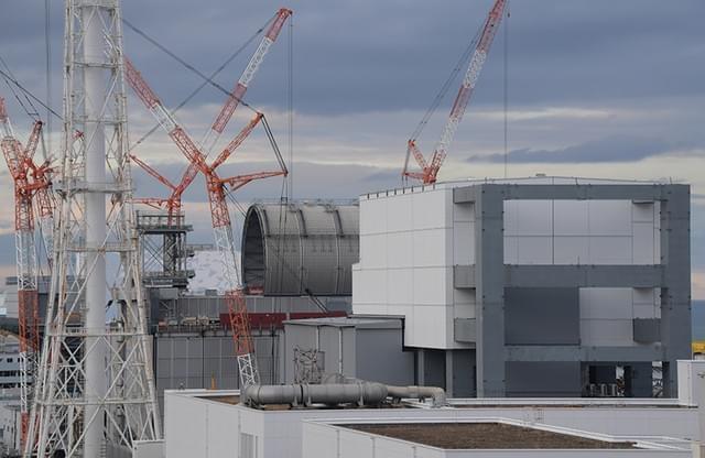 福岛第一核电站3号机建屋顶 取燃料当务之急