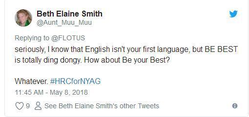 来听听!美第一夫人被吐槽英语太差 听不懂在说啥