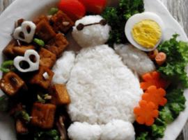 可乐豆腐便当 快做