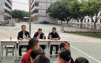 """石灰铺中心小学开展""""反校园欺凌""""法制宣讲会"""