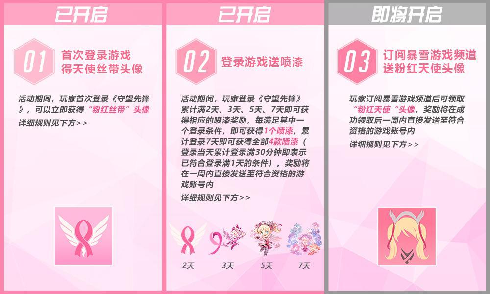"""解锁《守望前锋》""""粉红天使"""" 支持乳腺癌研究"""
