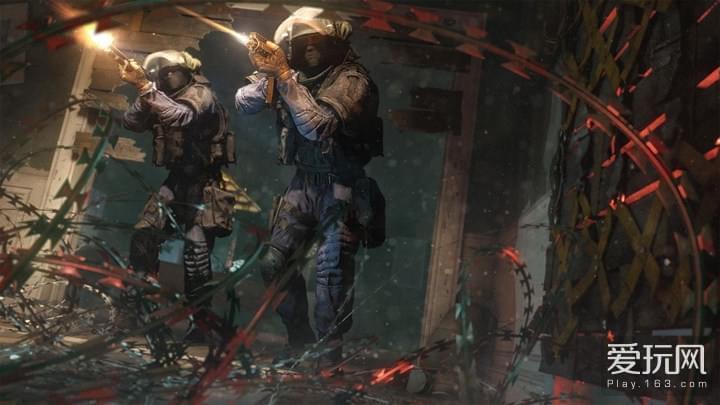 《彩虹六号:围攻》补丁高达42G 为将来打基础