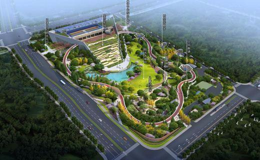 李宁体育公园落户江干 杭州将飘起首条空中漫步道