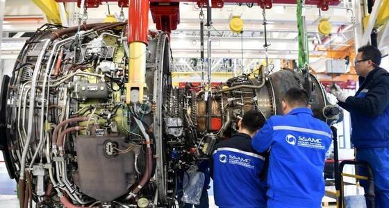 实拍亚洲最大的航空发动机维修基地