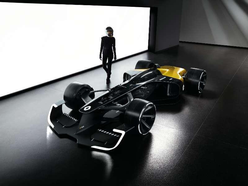 十年之后的F1赛车 雷诺R.S. 2027 Vision