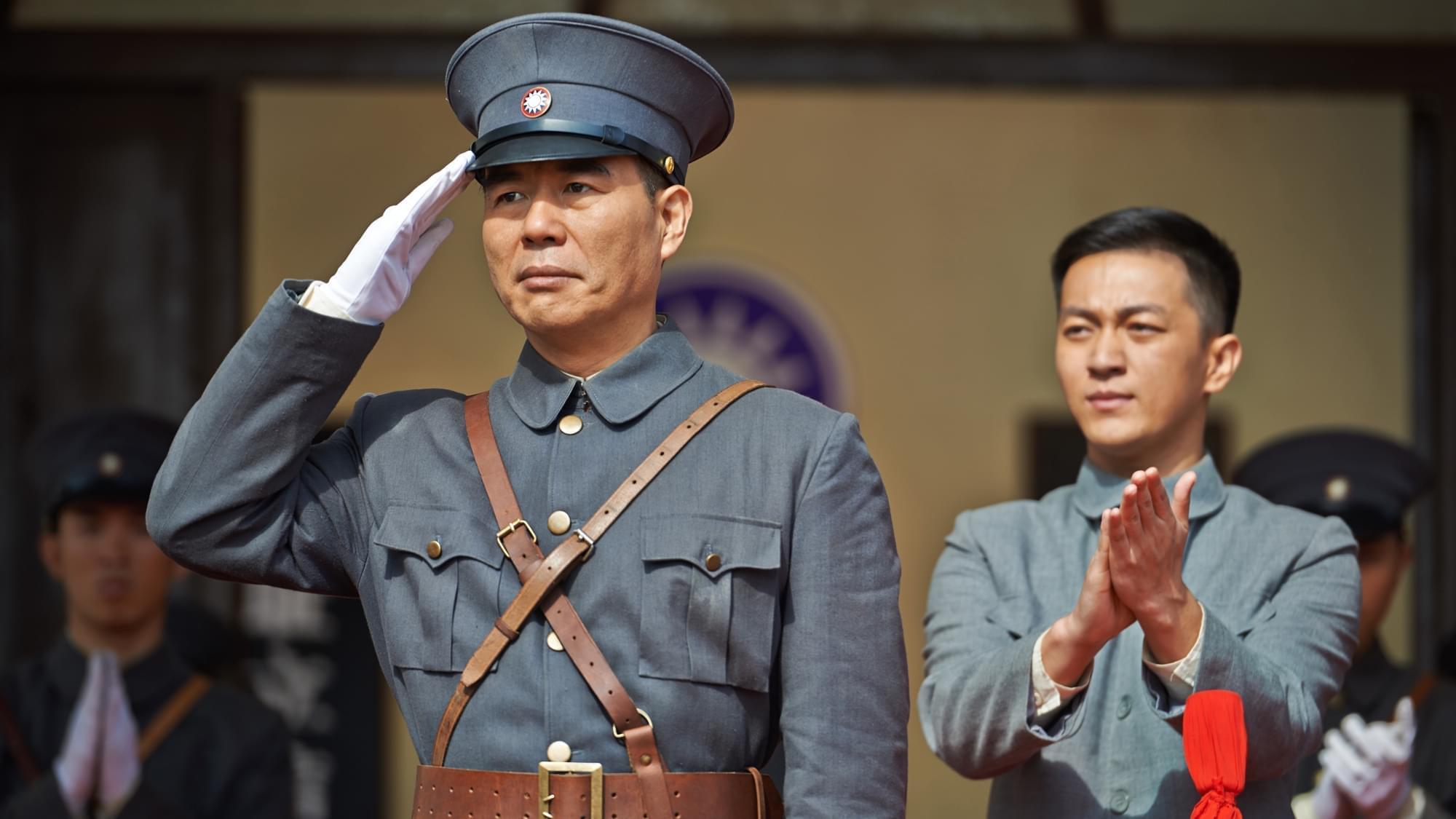 《热血军旗》表演传神 周惠林获封王伍福接班人