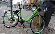 香港品牌共享单车退出巴黎