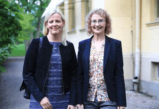 语言中心老师 Hannele Diehl,Bodil Merkel