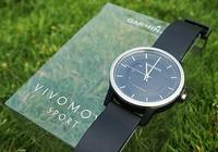 佳明Garmin vivomove手表运动版试玩体验