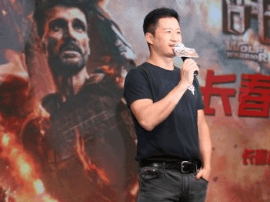 吴京携电影《战狼2》与长春影迷见面