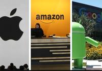 苹果 亚马逊 Alphabet:哪家市值能先破1万亿美