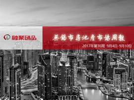 融聚周刊:2017年第36周无锡市房地产市场周报