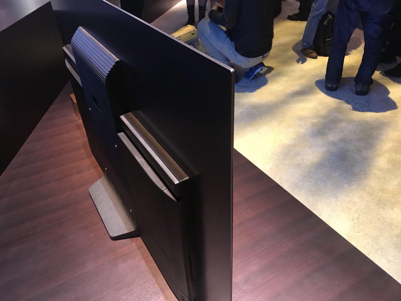 索尼不仅推出了OLED电视新品,还拿出了电视黑科技