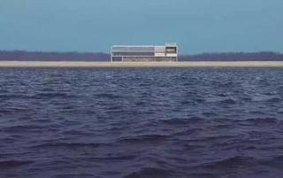 海边超孤独的房子
