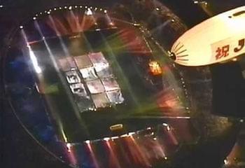 1993年J联赛开幕式盛况,自此日本足球走上了近20年的职业化之路。