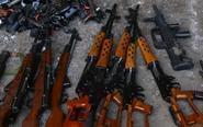 贵阳警方销毁非法枪爆物品