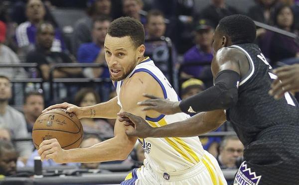 NBA常规赛:勇士-国王 库里率队避免连败